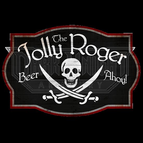 Jolly Roger Tavern Sign