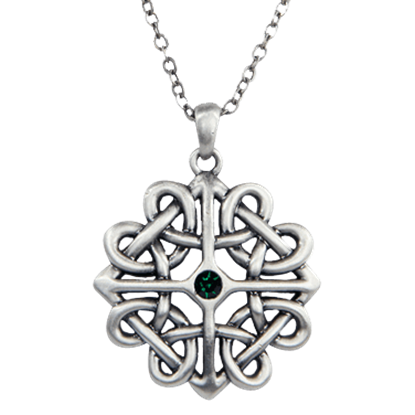 Celtic Flower Knot Necklace