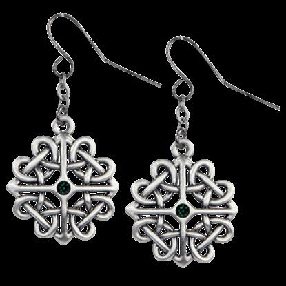 Celtic Flower Knot Earrings