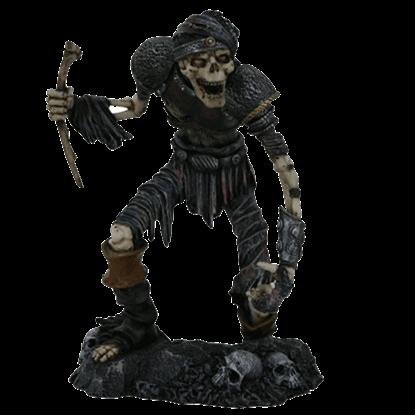 Decayed Skeletal Warrior Statue