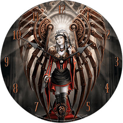 Anne Stokes Avenger Wall Clock