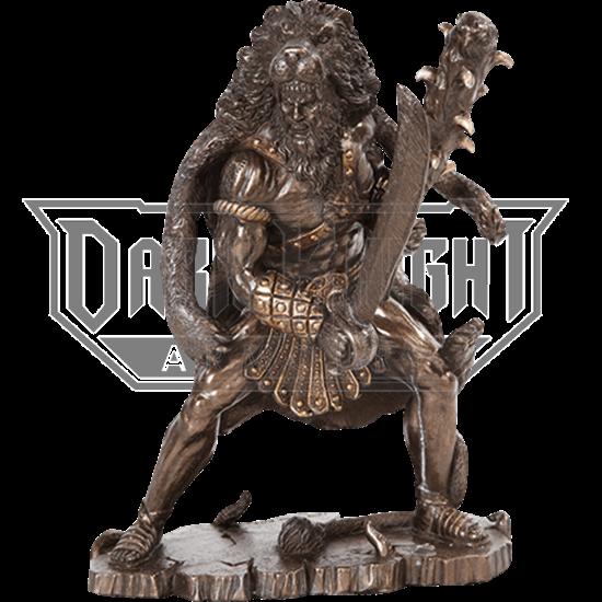 Bronze Hercules Statue