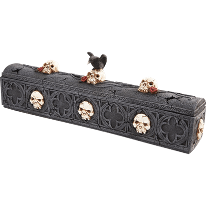 Raven Skull Incense Burner