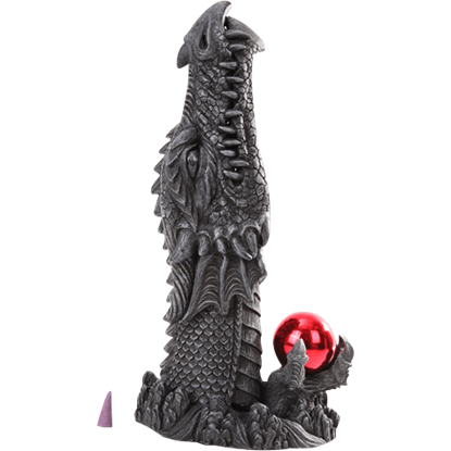 Red Dragon Head Incense Burner