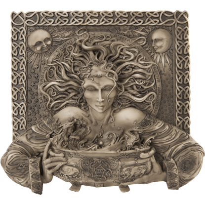 Celtic Cerridwen Plaque