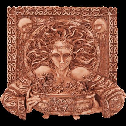 Brown Cerridwen Plaque