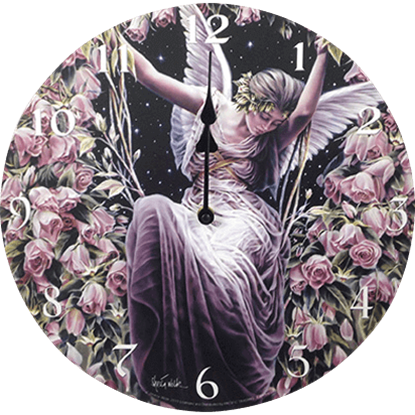 Angel Gatekeeper Wall Clock