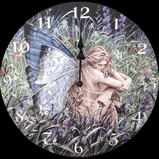 Field of Dreams Fairy Wall Clock