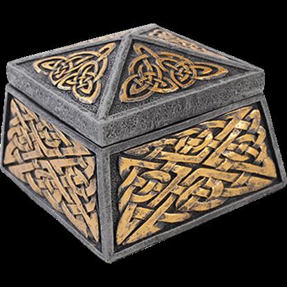 Celtic Knotwork Trinket Box