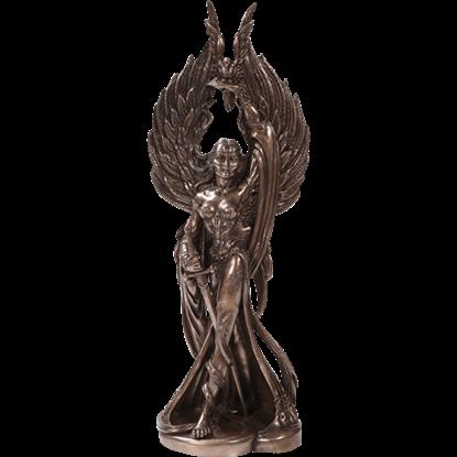 Bronze Morrigan Statue