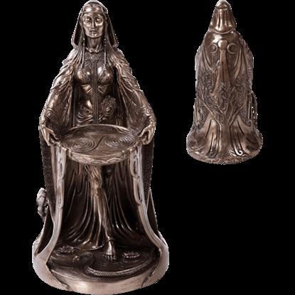 Bronze Danu Statue