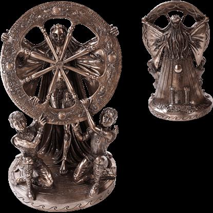 Bronze Arianrhod Statue