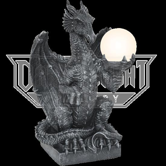 Dragon Orb Table Lamp