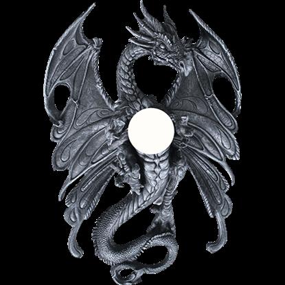 Dragon Orb Wall Lamp