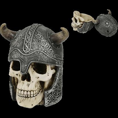 Viking Skull Trinket Box