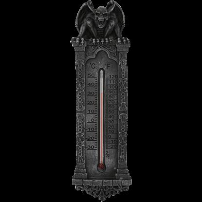 Fanged Gargoyle Thermometer