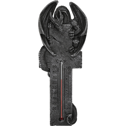 Crouching Dragon Cross Thermometer