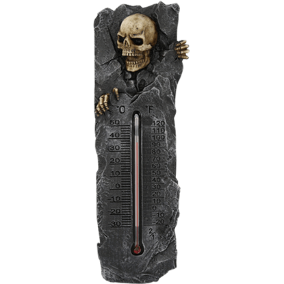 Skeleton Crypt Thermometer