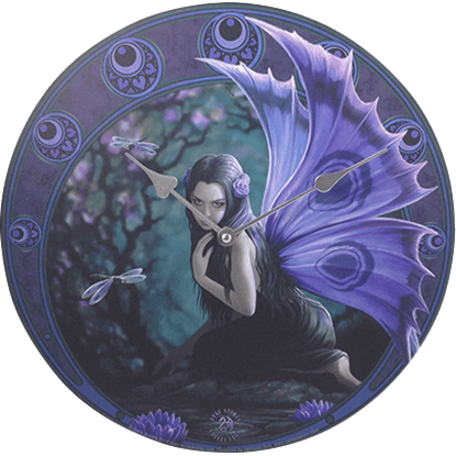 Naiad Clock by Anne Stokes