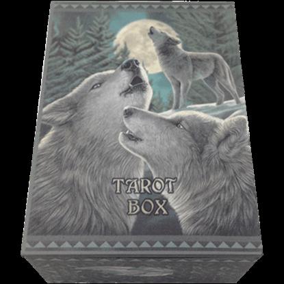 Wolf Trio Tarot Box