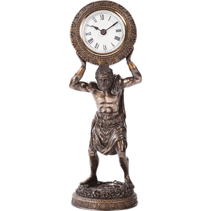 Atlas the Titan Desk Clock