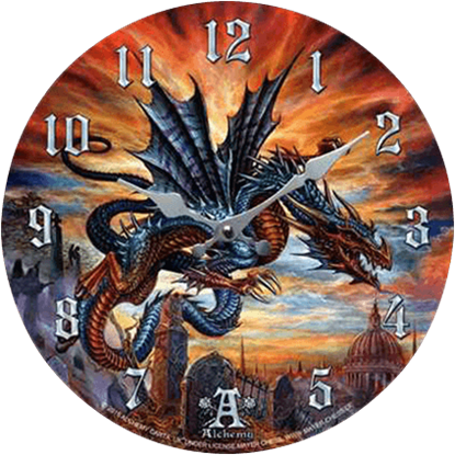 Flight of Terror Dragon Clock
