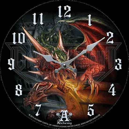 Fire Breathing Dragon Clock