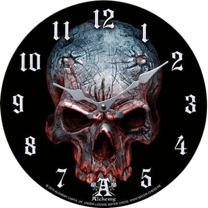 Demon Skull Clock