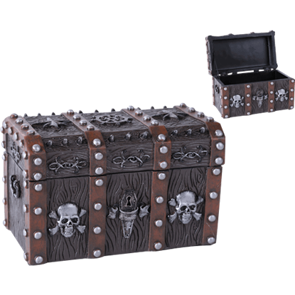 Pirate Chest Trinket Box