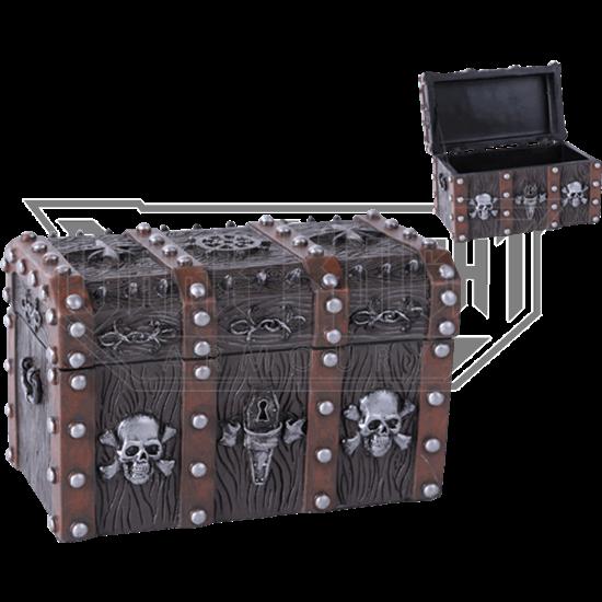 Pirate Chest Trinket Box