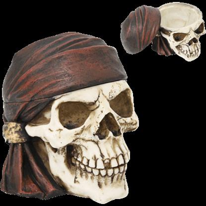 Buccaneer Skull Trinket Box