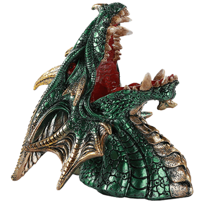 Green Dragon Wine Holder