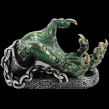 Green Dragon Claw Wine Holder