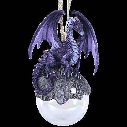 Hoarfrost Dragon Ornament