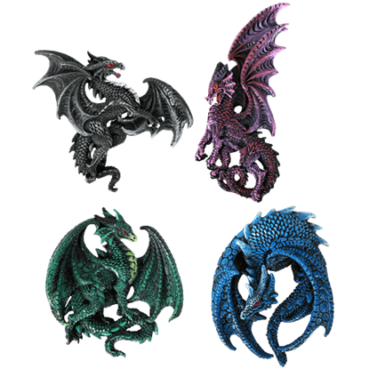 Enchanted Dragon Magnet Set
