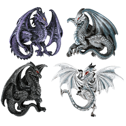 Dragons of Myth Magnet Set