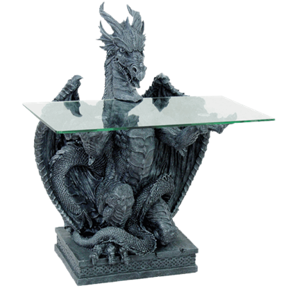 Dragon Statue Table