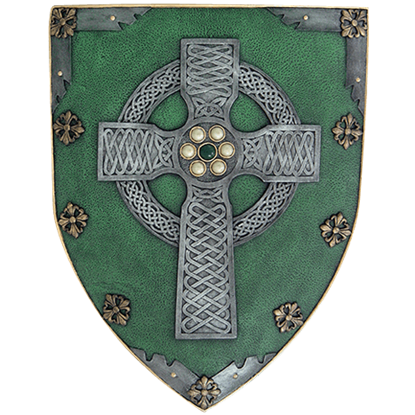 Celtic Warrior Shield Plaque