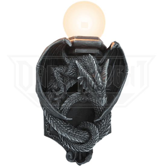 Crouching Dragon Wall Lamp