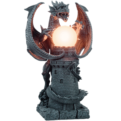 Dragon Castle Lamp