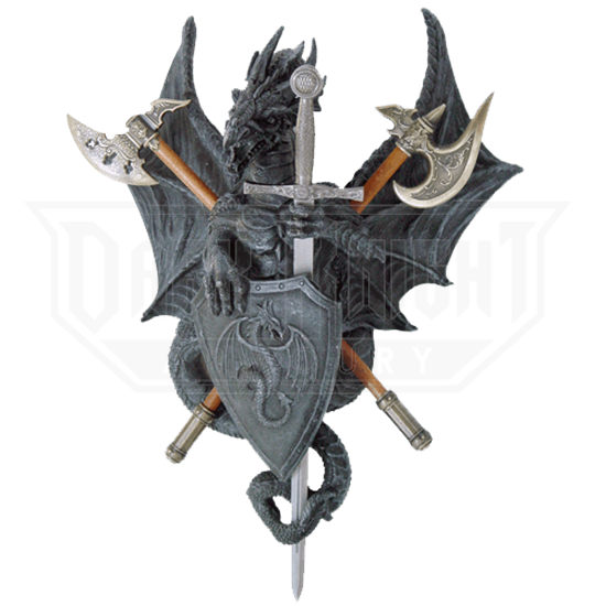Battle Dragon Plaque