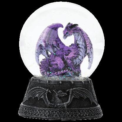 Hoarfrost Dragon Water Globe