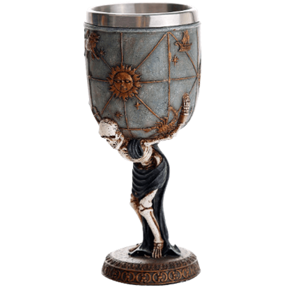 Atlas Skeleton Goblet