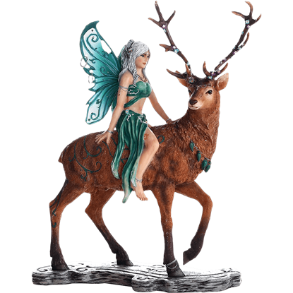Ayala and the Deer Fairy Statue