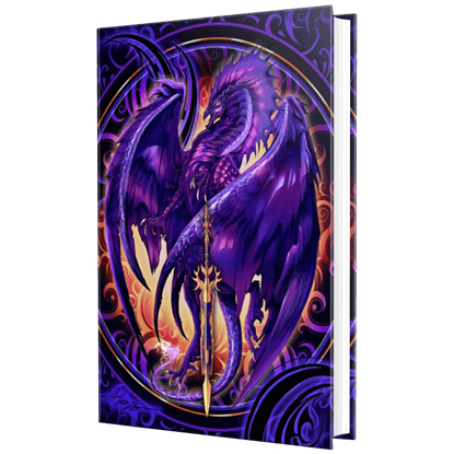 Dark Dragon Embossed Journal