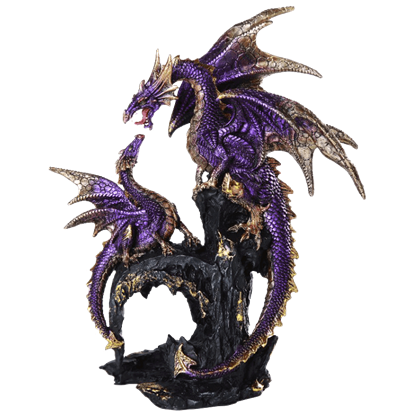 Angry Mother Dragon Statue
