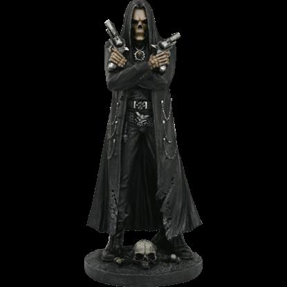 Biker Goth Reaper Statue