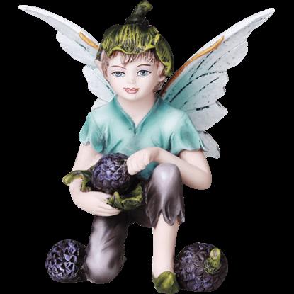 Berry Fairy Boy Statue