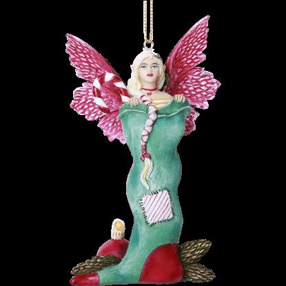 Stocking Fairy Hanging Ornament