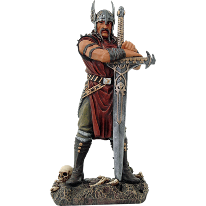 Victorious Mythic Viking Statue